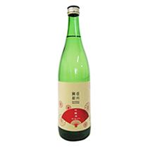 信州舞姫 吟醸酒 扇ラベル